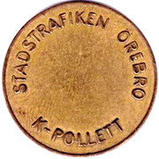 Transport Token - K-Pollett (Örebro) – obverse