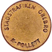 Transport Token - K-Pollett (Örebro) – reverse