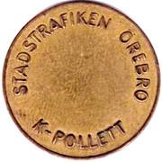 Transport Token - K-Pollett (Örebro) – reverse