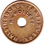 Transport Token - R-Pollett (Helsingborg) – obverse