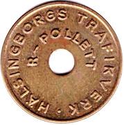 Transport Token - R-Pollett (Helsingborg) – reverse