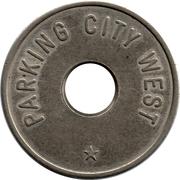Parking Token - Parking City West – reverse