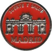 1 Euro Lucky Coin - Madrid (Orange - Optimism) – obverse