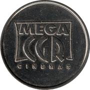 Amusement Token - CLD (Mega CGR Cinémas) – reverse