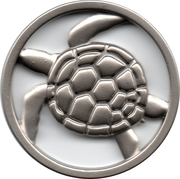 Shopping Cart Token - Aquarium La Rochelle – obverse