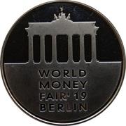 Lithuanian Mint Token - World Money Fair 2019 – obverse