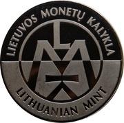 Lithuanian Mint Token - World Money Fair 2019 – reverse