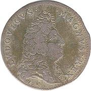 Token - Louis XIV (Treaties of Nijmegen) – obverse
