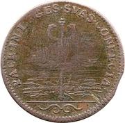 Token - Louis XIV (Treaties of Nijmegen) – reverse