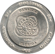 25 Cents - Holiday Casino Cruises, Paradise (Florida) – reverse