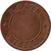 Token - R. Bath (Wisbech) – obverse