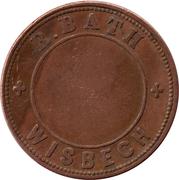 Token - R. Bath (Wisbech) – reverse
