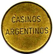 Game Token - Casinos Argentinos – obverse