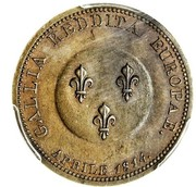 5 Francs - Visit of Alexander I to Paris – obverse