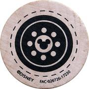 Token - Disney Transport – reverse