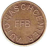 Car Wash Token - Ffb (Fürstenfeldbruck) – obverse