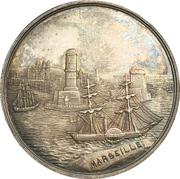 Token - Maritime insurance and stockbrokers lloyd (Marseille) – obverse