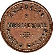 50 Centavos - Estancias y Quebrachales (Puerto Galileo) – obverse