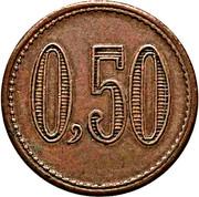50 Centavos - Estancias y Quebrachales (Puerto Galileo) – reverse
