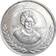 1 Dollar - Denny's – reverse