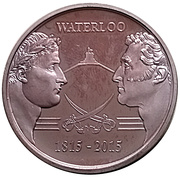 Token - Waterloo 1815-2015 – obverse