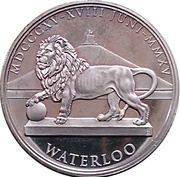 Token - Waterloo (Napoléon) – reverse
