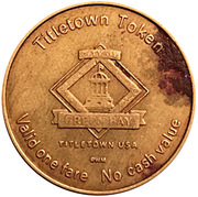 Titletown Token - Green Bay Transit – reverse