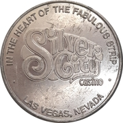 Free Play Token - Silver City Casino (Las Vegas, Nevada) – obverse