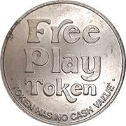 Free Play Token - Silver City Casino (Las Vegas, Nevada) – reverse