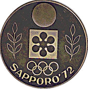 Token - Olympic Winter Games Sapporo 1972 – obverse