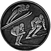 Token - Olympic Winter Games Sapporo 1972 – reverse