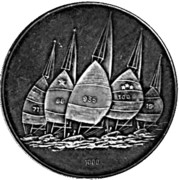 Token - Olympiade Kiel 1972 – reverse