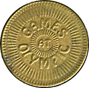 Token - Games at Olympic – obverse