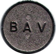 Coffee Machine Token - Bav – obverse