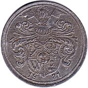 Gas Token - Wertmarke  für Münzgasmesser (Breslau) – reverse