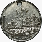 Token - Columbian Exposition (Machinery Hall) – reverse