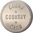 10 Cents - Cozad Country Club (Cozad, Nebraska) – obverse