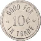 10 Cents - Cozad Country Club (Cozad, Nebraska) – reverse