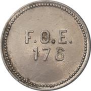 5 Cents - Fraternal Order of Eagles 176 (Billings, Montana) – obverse