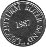 Token - Lighthouse Roter Sand – obverse