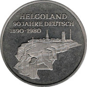 Medal - 90 Years Helgoland – obverse
