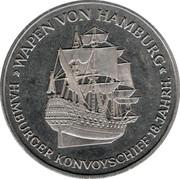 Medal - 90 Years Helgoland – reverse