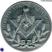Masonic Token - Loge Indépendance et Progrès (Calais ou Nîmes) – reverse