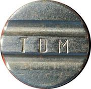 Token - TDM – obverse