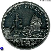 Token - Monnaie de Paris (Dant Pretium 1767) – obverse