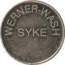 Car Wash Token - Werner-Wash (Syke, Basse-Saxe) – obverse
