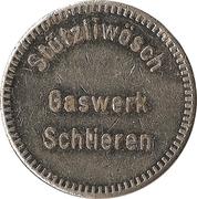 Car Wash Token - Stützliwösch Gaswerk (Schlieren) – obverse