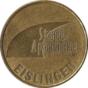 Fils Taler - Stadt Apotheke (Eislingen) – obverse