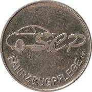 Car Wash Token - SEP (Heilbronn, Stuttgart, Neckarsulm, Backnang) – reverse