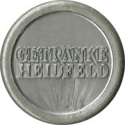 Beer Token - Getränke Heidfeld – reverse